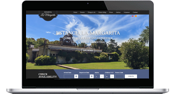 Estancia La Margarita Website